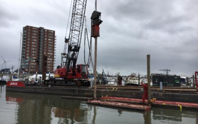 Foto-update oplevering watersportvereniging IJsselmonde